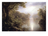 Morning in the Tropics Posters af Frederic Edwin Church