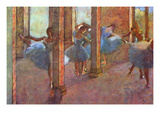 Dancers in the Foyer Premium Giclee Print by Edgar Degas