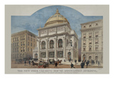 New York Clearing House Association Building Poster