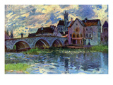 Moret-Sur-Loing Premium Giclee Print by Alfred Sisley