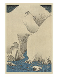 Mountains and Rivers on the Kiso Road (Kisoji No Sansen) 2 Posters by Ando Hiroshige