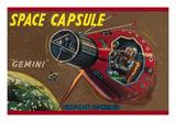 Space Capsule Gemini Posters