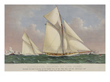 America's Cup Yacht Race 1886 Posters