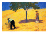 Tree in Cornfield Prints by August Macke