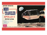 Moon Traveler Apollo-Z Poster