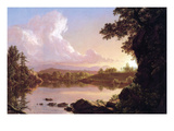 Catskill Creek Art by Frederic Edwin Church