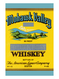 Mohawk Valley Bourbon Whiskey Posters