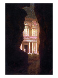 El Khasne, Petra Posters by Frederic Edwin Church