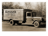 "Kingan's ""Reliable"" Hams and Bacon, Fresh Pork and Beef Delivery Truck Posters"