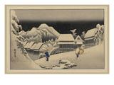 Kanbara Posters by Ando Hiroshige