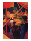 Tightrope Prints by Auguste Macke
