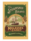 The Steamship Brand Molasses Candy Premium Giclee Print