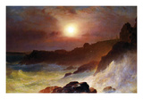 Coast Scene, Mount Desert Poster by Frederic Edwin Church