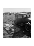 Living Out of Your Car Prints by Dorothea Lange