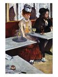 Absinthe Premium Giclee Print by Edgar Degas