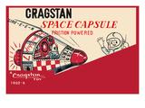 Cragstan Space Capsule Poster