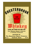 Chesterbrook Whiskey Print