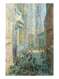 Lower Manhattan Posters by Childe Hassam