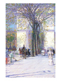 Washington Triumphal Arch in Spring Art by Childe Hassam
