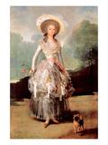 Portrait of Marquesa De Pontejos Y Sandoval, Herzogin Von Pontejos Prints by Francisco de Goya
