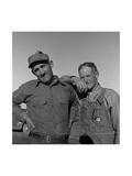 Heads of Families on the Mineral King Cooperative Farm. Giclee-tryk i høj kvalitet af Dorothea Lange