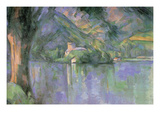 Le Lac Annecy Art by Paul Cézanne
