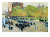 Spring Morning in the Heart of Manhattan Prints by Childe Hassam