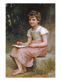 A Calling Poster by William Adolphe Bouguereau