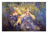 Little Flute Players Prints by Berthe Morisot