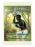 Rhum Bamboula Prints by G. Sautai