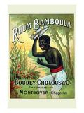 Rhum Bamboula Posters by G. Sautai