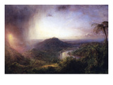 The Valley of St. Thomas, Jamaica Prints by Frederic Edwin Church