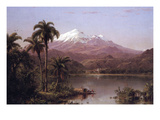 Tamaca Palms Posters by Frederic Edwin Church