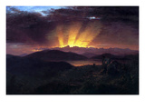 After the Annealing Posters by Frederic Edwin Church