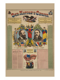 Our Nation's Choice--Gen. James Abram Garfield, Republican Candidate for President, etc. Poster by  Haasis & Lubrecht