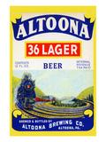 Altoona 36 Lager Beer Premium Giclee Print