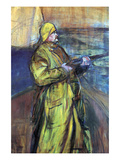 Maurice Joyant at the Bay Somme Prints by Henri de Toulouse-Lautrec