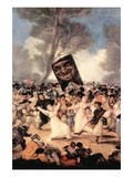 The Funeral of Sardina Posters by Francisco de Goya