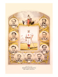 First Nine of the Cincinnati (Red Stockings) Base Ball Club Posters by Walkley & Moellman, Tuchfarber