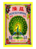 Peacock Brand - Poster