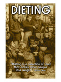 Dieting Poster
