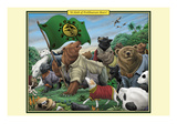 A Sloth of Prolibearean Bears Prints by Richard Kelly
