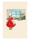 Doll by the Window Print by Eugene Field