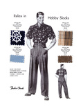 Relax in Hobby Slacks Prints by  Fashion Frocks