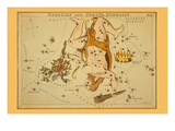 Hercules and Corona Borealis Prints by Aspin Jehosaphat