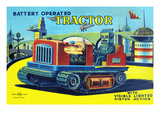 Battery Operated Tractor Posters