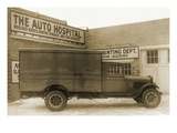 Truck at the Auto Hospital Posters