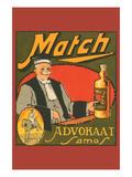Match Advokaat Samos Print