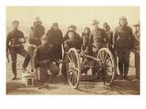 Artillery Gunners with Field Piece Prints by John C.H. Grabill