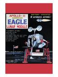 Apollo-11 American Eagle Lunar Module Posters